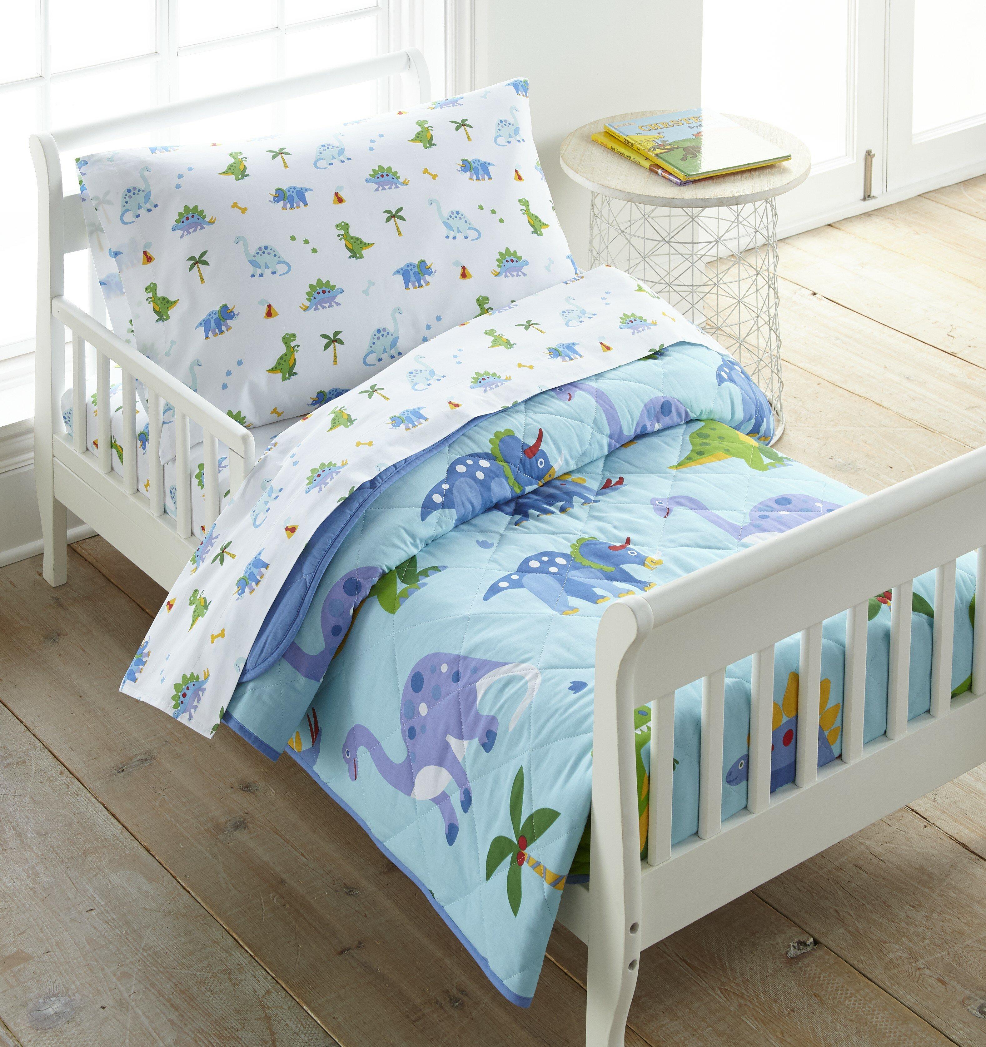 Wildkin Olive Kids Dinosaur Land Toddler Comforter Reviews Wayfair