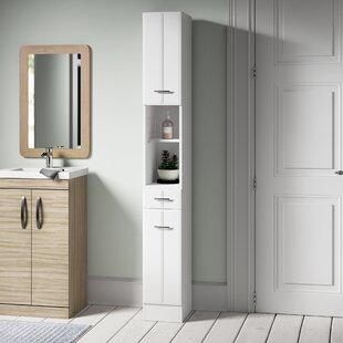 Tillie 25cm X 190cm Free-Standing Cabinet By Mercury Row