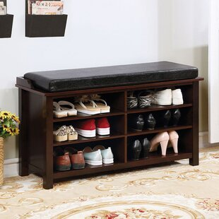 Affordable 8 Pair Shoe Storage Bench ByLatitude Run