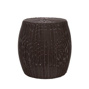 Wicker/Rattan Side Table by Beachcrest Home