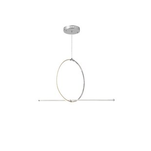 Orren Ellis Brill 1-Light LED Novelty Cha..