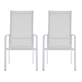 Emond Stacking Patio Dining Chair