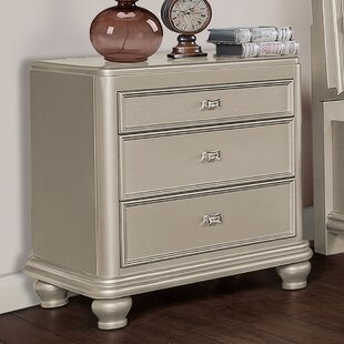 3 Drawer Nightstand by BestMasterFurniture