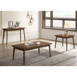 Need Williston Forge Catlett 3 Piece Coffee Table Set Amazing Price