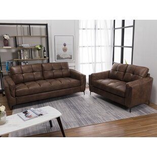 Emmons 2 Piece Standard Living Room Set by 17 Stories