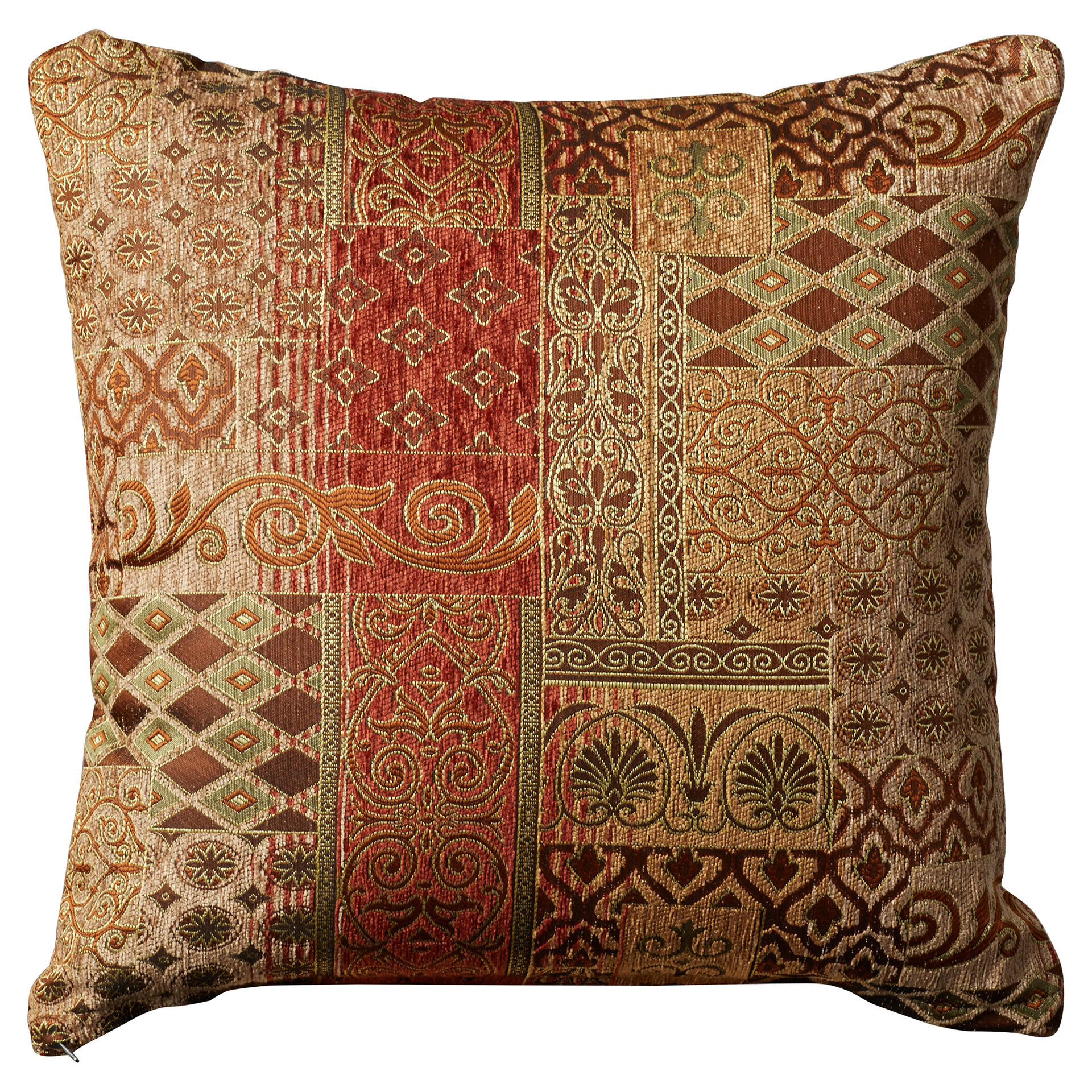 The Pillow Collection Tait Floral Bedding Sham Rain Standard//20 x 26