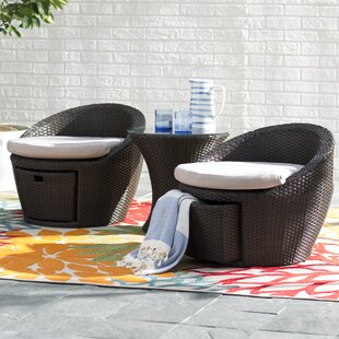 Chappell 3 Piece Conversation Set with Cushions
