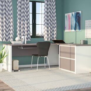 Read Reviews Karla L-Shape Desk Office Suite By Latitude Run