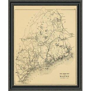 Large Maine Framed Art You Ll Love In 2021 Wayfair