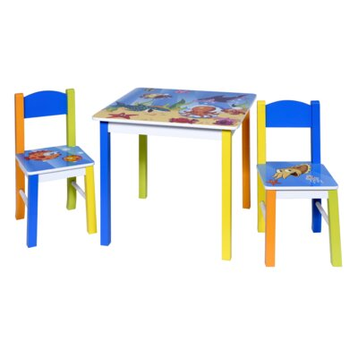 Zoomie Kids Robey Kids 3 Writing Table and Chair Set