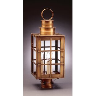 Preesall Chimney Can Top H-Bars 1-Light Lantern Head by Darby Home Co