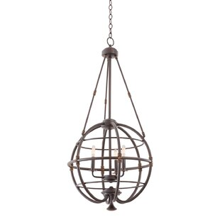 Kalco Larson 3-Light Globe Chandelier
