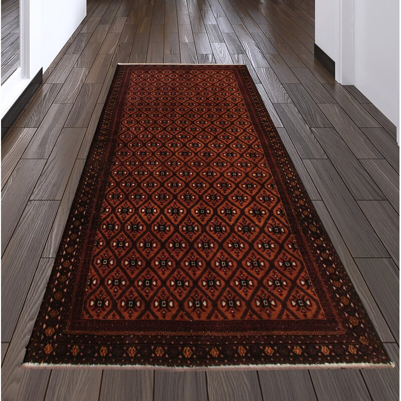 Bloomsbury Market Anubis Hand Knotted Wool Copper Red Rug Wayfair