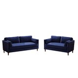 Bodulf 2 Piece Standard Living Room Set by Mercer41