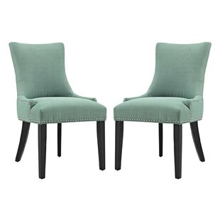 Red Barrel Studio Enfield Upholstered Dining Chair (Set of 2)