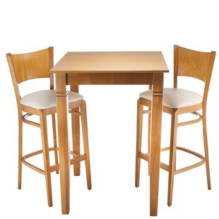 Earleville 3 Piece Pub Table Set DarHome Co