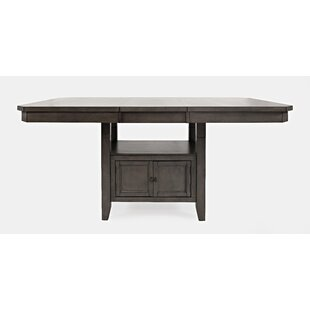 Johnsburg Extendable Dining Table by Red Barrel Studio