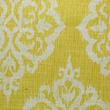 Damask Design Yellow Fabric By The Yard You Ll Love In 2021 Wayfair