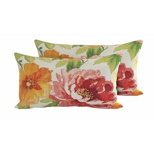 Primrose Outdoor Lumbar Pillow (Set of 2)