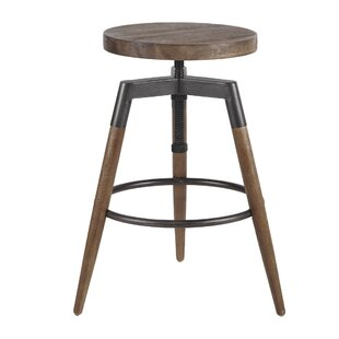 Deskins Adjustable Height Bar Stool by Wi..