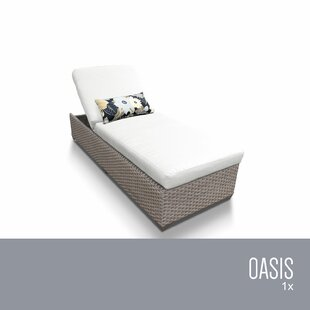 TK Classics Chaise Lounge with Cushion