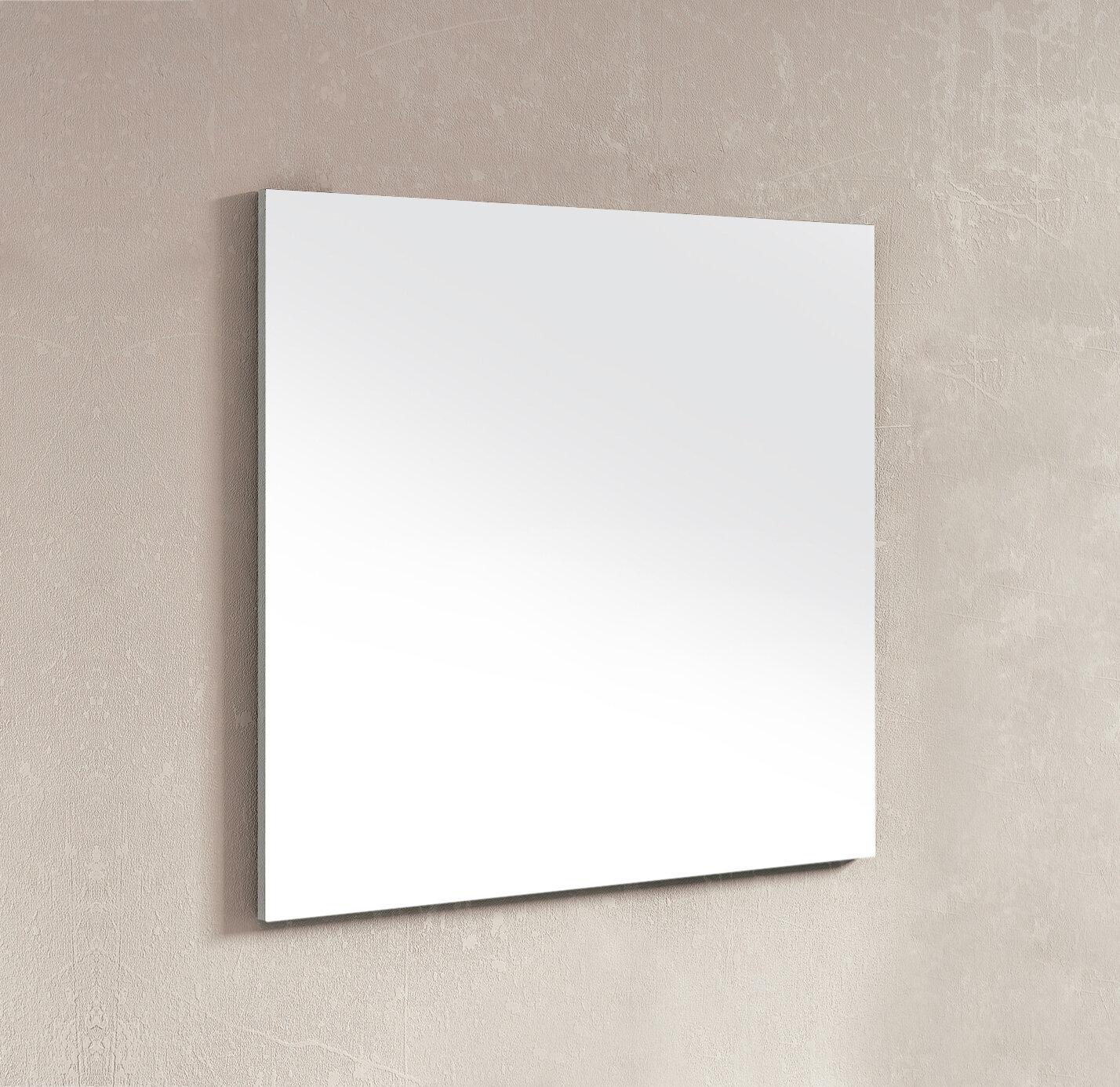Dawn Usa Wall Mounted Frameless Wall Mirror Reviews Wayfair