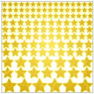 Stars Wall Sticker Set By East Urban Home