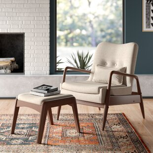 Julia Lounge Chair and Ottoman