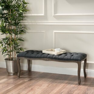 Savorey Upholstered Bench by Lark Manor