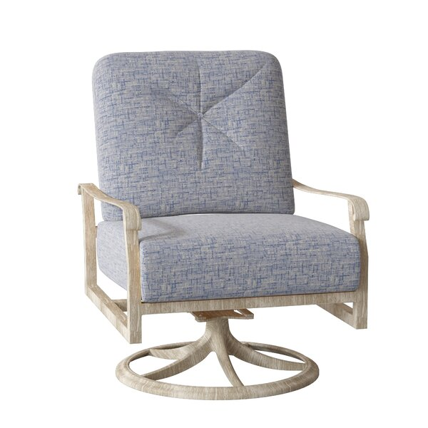 Woodard Cortland Extra Large Swivel Rocking Chair | Wayfair on Living Accents Cortland Patio Set id=13317
