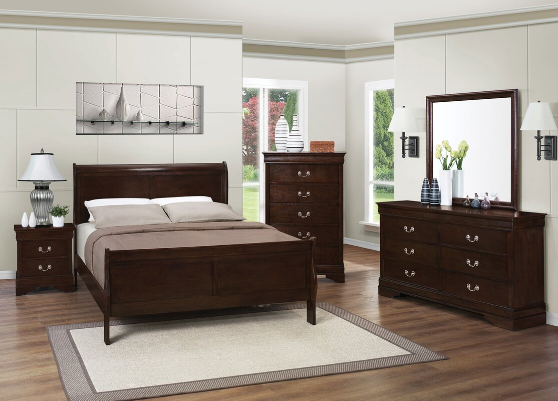 Richard Panel Configurable Bedroom Set