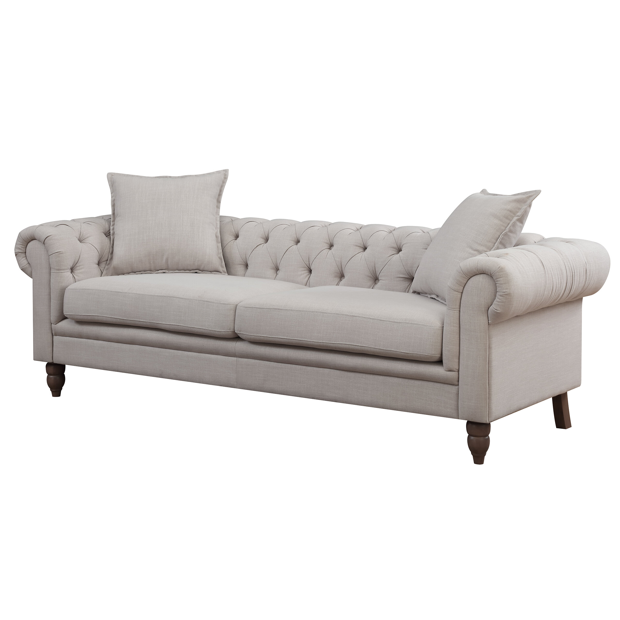AC Pacific Juliet Chesterfield Sofa U0026 Reviews | Wayfair