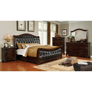 Titus Sleigh Configurable Bedroom Set by Fleur De Lis Living