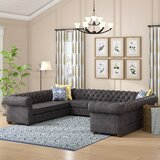 Gowans Symmetrical Sectional by Three Posts