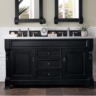 Bedrock 60 Double Bathroom Vanity Set by Darby Home Co