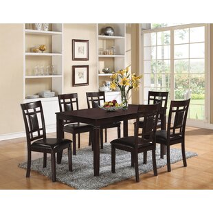 Hazel 7 Piece Dining Set A&J Homes Studio