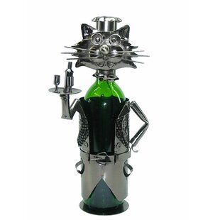 Cat Server 1 Bottle Tabletop Wine Rack by..