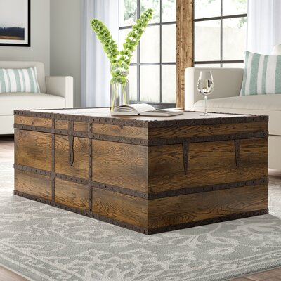 Hill Country Coffee Table Trunk Hooker Furniture