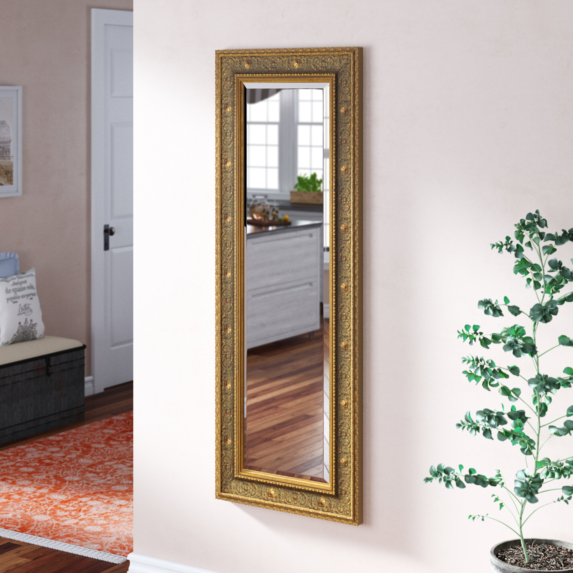 Astoria Grand Traditional Venetian Full Length Mirror Wayfair