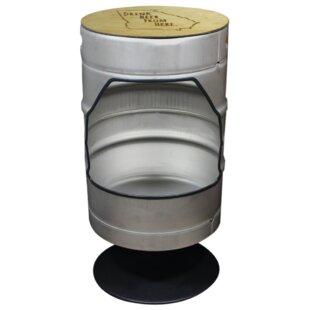 Mccullough Drink Beer Swivel Bar Stool