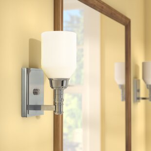 Dostal 1-Light Bath Sconce by Bungalow Rose