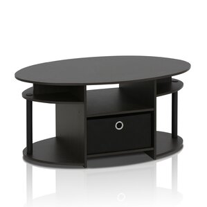Amani Simple Design Coffee Table with Bin by Zipcode Design