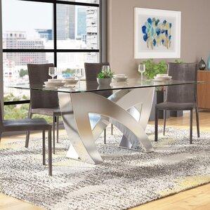 Plevna Dining Table by Orren Ellis
