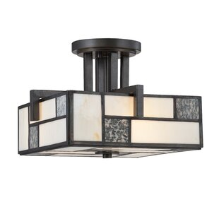 Designers Fountain Bradley 3-Light Semi-Flush Mount