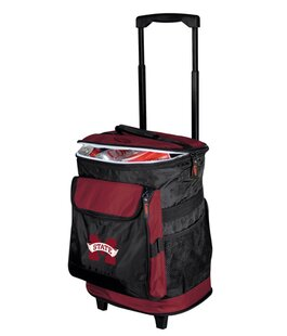 24 Can Collegiate Rolling Cooler - Mississippi State