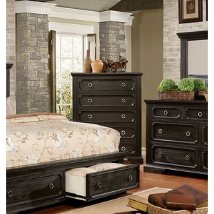 Andrew Home Studio Clark 5 Drawer Chest