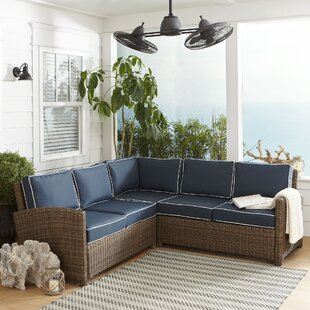 Lawson Patio Sectional with Cushions by Birch Lane™ Heritage