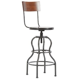 Calahan Swivel Bar Height Stool by Williston Forge