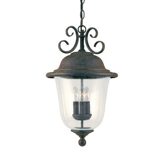 Elizabeth 3-Light Outdoor Pendant