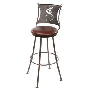 Shop for Chilson 30 Swivel Bar Stool by Fleur De Lis Living Reviews (2019) & Buyer's Guide